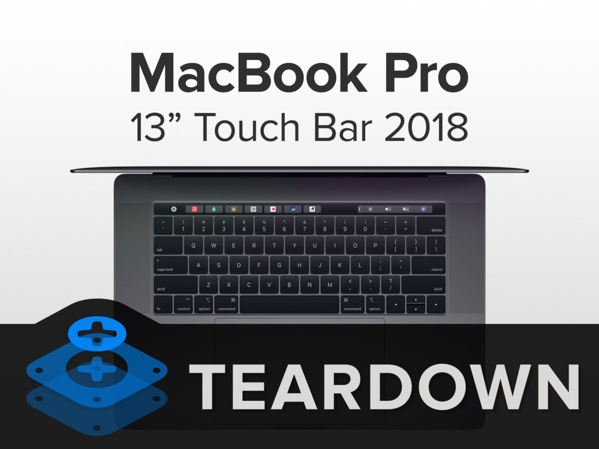 MacBook PRO 2018 Teardown